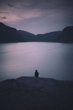listening to the silence...