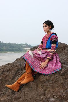 Hmong Full Dress /Ethnic/ Embroidery/Tribal/Traditional. $700.00, via Etsy.