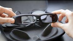 SmartEyeglass Developer Edition SED-E1: true augmented reality #vr #virtualreality #virtual reality