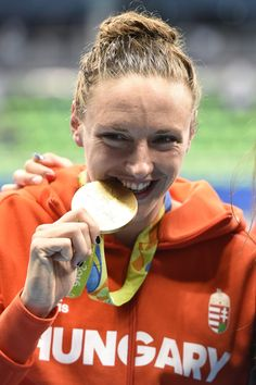 Swimmer Katinka Hosszú (HUN), winner of the women's 400 m individual medley, Olympic Games, Rio de Janeiro 400 M, Winter Games, Rio 2016, Central Europe, Olympians, Eat Sleep, Olympic Games, Hungary, Budapest