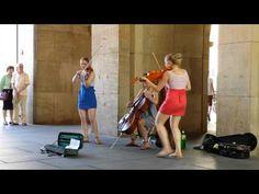 Уличные музыканты - YouTube