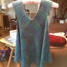 Ravelry: tigerknitting's Pin loom vest