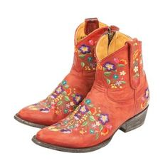 MEXICANA red leather Boots