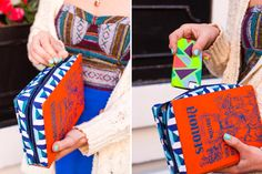 How to Turn a Vintage Book into a Clutch via Brit + Co.