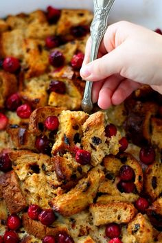 Cranberry Orange French Toast Bake a fail-proof, crowd-pleasing way to serve up a fantastic brunch! (gluten-free & dairy-free)