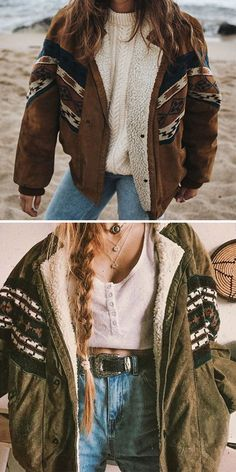 Hippie Outfits, Retro Outfits, Cute Casual Outfits, Vintage Outfits, Casual Ootd, Casual Fall, Fashion Mode, Aesthetic Fashion, Aesthetic Clothes