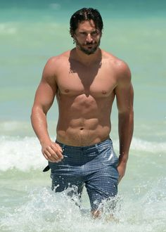 "Joe Manganiello - - - Joe is a top contender for ""Handsomest & Sexist Men in Hollywood"""