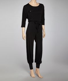 4eb6e595a1a9 Hodges Collection Black Jumpsuit - Women