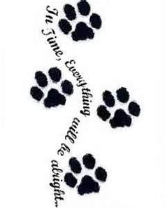 Paw Print Tattoo Sketch Picture By Soopavillainx Photobucket