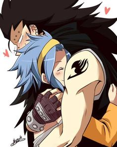 Group of: Levi❥Gajeel / Fairy Tail | We Heart It