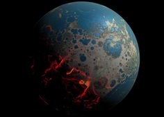 NASA Research Shows Giant Asteroids Battered Early Earth - SpaceRef