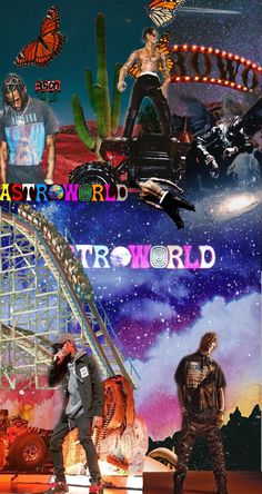 Astroworld Travis Scott wallpaper Backgrounds in 2019