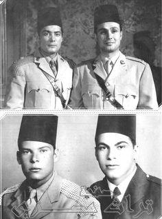 على وحسين عبد الواحد والشخصيات الحقيقية يوسف السباعى واخيه
