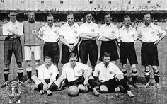 Great Britain football team who won gold at the Olympic Games in 1912.