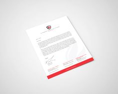 A piece of the Richmond Christian School overall brand package - RCS Letterhead design.