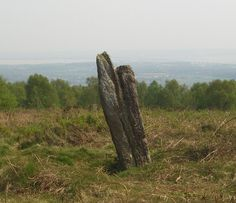 Gray Hill Stone Circle, Llanfair Discoed, Monmouthshire (Sir Fynwy). Photo by Steve Sheppard for Geograph.