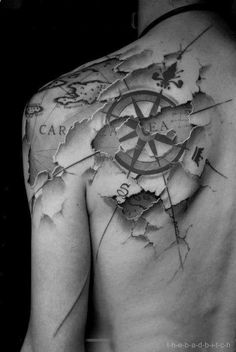 One of the most badass tattoos Ive ever seen.....