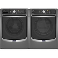 MADE IN USA..Maytag Maxima Front Load Steam Washer and Dryer Set