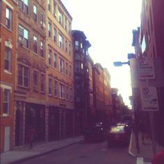 North side, Boston, Massachusetts