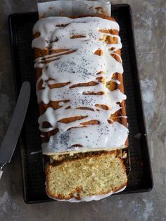 Ukens oppskrifter - Mat På Bordet Loaf Cake, Cake Cookies, No Bake Cake, Banana Bread, Waffles, Cake Recipes, Sweet Tooth, Lemon, Cheese