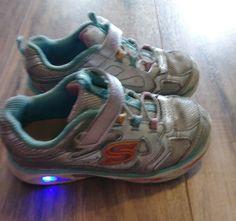 540cd7bb601b SKECHERS Girls S Light Light-Up Shoes Size 9  fashion  clothing  shoes