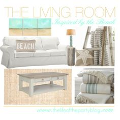 The Living Room: Inspired by the Beach