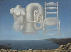 Le Temps Menaçant (Threatening Weather), Rene Magritte, 1929. National Galleries of Scotland. Purchased with the support of the Heritage Lottery Fund and the Art Fund 1995. © ADAGP, Paris and DACS, London 2004