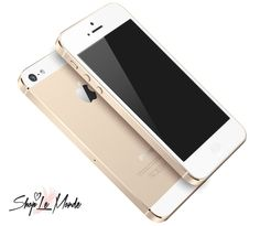 The golden iPhone 5S.