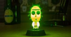 Paladone Rick and Morty Icon Light Figures Rick Y Morty, Harry Potter Gifts, Game Room, Bedroom Decor, Naruto, Things To Sell, Lamps, Products, Design