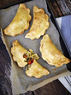 Jamie Oliver's Gluten-Free Veggie Pasties are also perfect for using leftover roast vegetables from your Christmas spread.