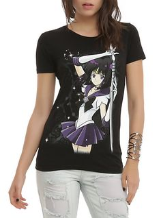 Sailor Moon Sailor Saturn Girls T-Shirt   Hot Topic