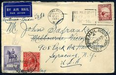 318500 - Lot 18 - Australia Covers - Postal History Covers - 1935 Airmail cover 1d Kiwi sent to Australia… / MAD on Collections - Browse and find over 10,000 categories of collectables from around the world - antiques, stamps, coins, memorabilia, art, bottles, jewellery, furniture, medals, toys and more at madoncollections.com. Free to view - Free to Register - Visit today. #Stamps #PostalHistory #MADonCollections #MADonC