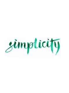 simplicity | vtwonen