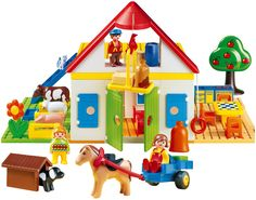 Playmobil 1.2.3. Large Farm