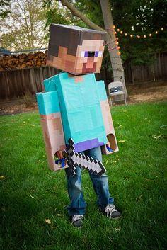 Minecraft Steve Costume | minecraft | Pinterest