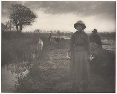 Poling the Marsh Hay from Life and Landscape on the Norfolk Broads (London, Peter Henry Emerson (British, with T. Goodall(British) c. Old Photos, Vintage Photos, Norfolk Broads, Fine Art Prints, Canvas Prints, Gloss Matte, Vintage Wall Art, Heritage Image, Emerson