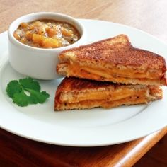 Grilled Cheese and Chutney Sandwiches by daringgourmet