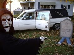 Scary Halloween Decorations | Decorações de Halloween Assustadoras