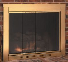 Fireplace glass an…