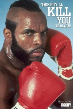 This guy will kill you to death.. #ClubberLang #MRT #Rocky