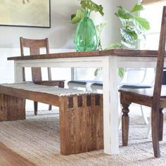 DIY Modern Farmhouse Bench