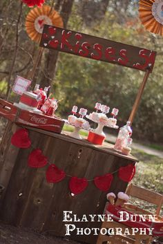 Valentine's Day Kissing Booth