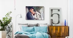 Special Valentine's Day Deal: up to 85% OFF!!!  Your photo on canvas!  www.canvasdiscount.com #canvasdiscount #valentinesday #canvasprints