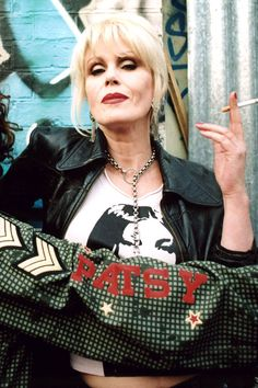 JOANNA LUMLEY's character in Absolutely Fabulous, fashion editor Patsy Stone, is hardly famous for her good behaviour, but she apparently had a competitor on set in the form of Naomi Campbell in the early days of the show.