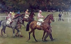 'Going Out at Kempton'   A new film has been made about the artist Sir Alfred Munnings