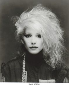 Dale Bozzio of Missing Persons. / super beautiful!
