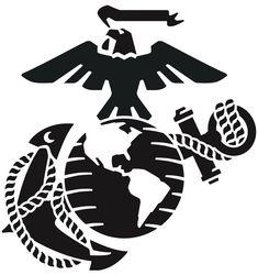 marine corps emblem clip art usmc logo clip art art art by rh pinterest com usmc clipart and graphics usmc clipart