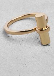 Gilded Bar Ring