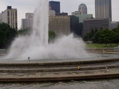 The Fountain @ Point State Park  Pittsburgh PA...good to have the ol' gal back.