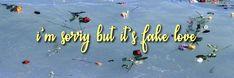bts header | fake love Twitter Banner, Twitter Bts, Twitter Quotes, Bts Header, Header Banner, Banners, Twitter Cover Photo, Fb Cover Photos, Twitter Layouts